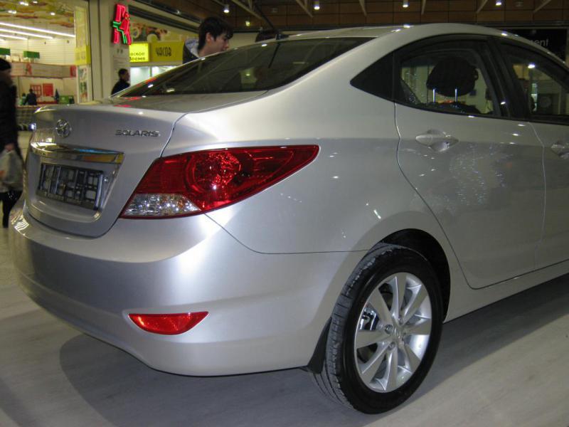 Hyundai Solaris - Фотогалерея кл…