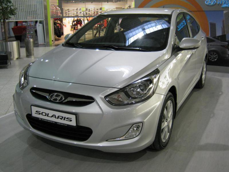 Прокат автомобиля - Hyundai Solari…