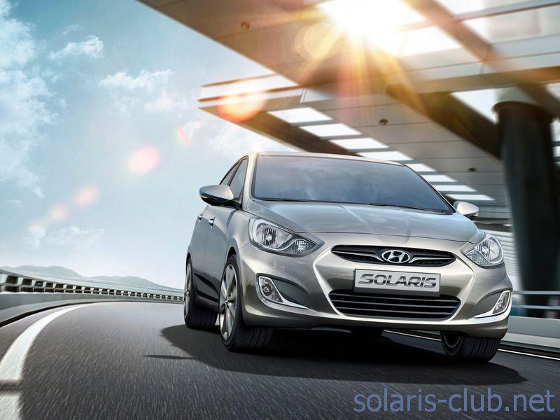 Hyundai Solaris: промо-фотография